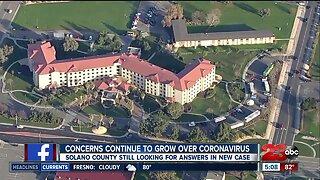 Concerns continue to grow over coronavirus