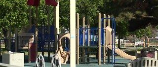 Las Vegas closing city park playgrounds