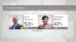 Kevin Anderson next Mayor of Fort Myers