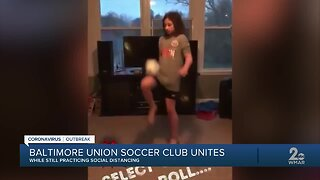 Local players keep up on their soccer skills using TP