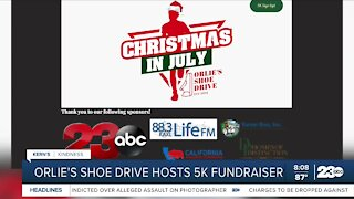 Kern's Kindness: Orlie's Shoe Drive Christmas in July 5k
