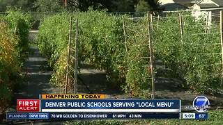 Denver Public Schools serving local menu
