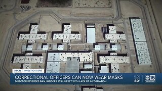 AZ Dept. of Corrections changes course, allows workers to wear masks