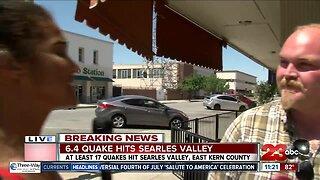 6.4 earthquake hits near Searles Valley