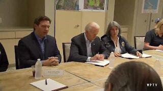 President Biden meets with emergency officials