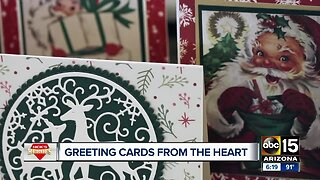 Nick's Heroes: Greeting cards made from the heart