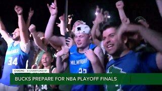 Bucks, fans prepare for NBA playoff finals