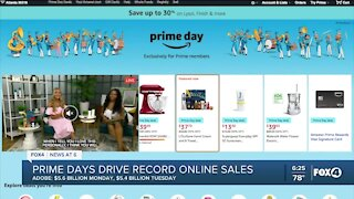 Prime Days helped boost all online sales to record levels