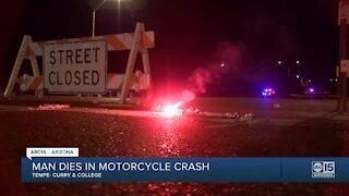 Motorcyclist killed in Tempe crash