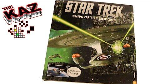 2018 Star Trek Ships of the Line Calendar