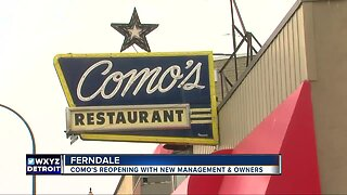 Como's to reopen with new management in Ferndale