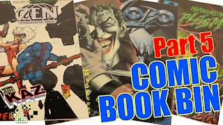 Comic Book Bin Part 5