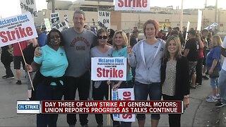 UAW on strike at General Motors