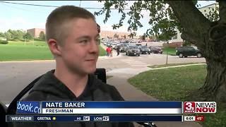 Students react to Bellevue East assault