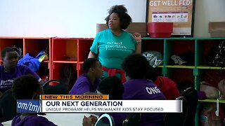 Our Next Generation: Unique program helps Milwaukee kids stay focused