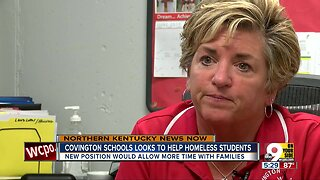 Covington public school officials say a fifth of Covington students experience homelessness