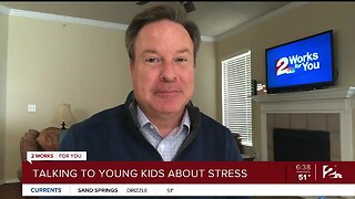 Mindful Moment with Mike: Talking to Young Kids About Stress