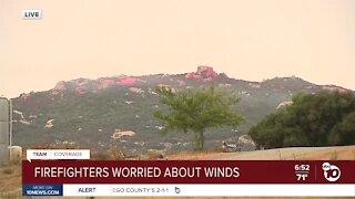 Firefighters brace for Santa Ana winds