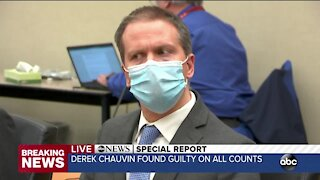 Derek Chauvin found guilty of all charges in death of George Floyd