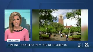 State universities in Florida must go to online classes only to combat coronavirus
