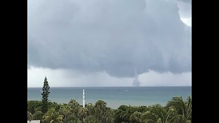 Water spout spotted off Jupiter