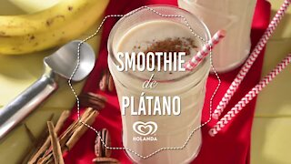 Banana and Nut Smoothie