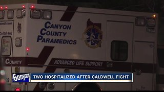 Police chase through Caldwell starts with residential fight, ends with two in hospital