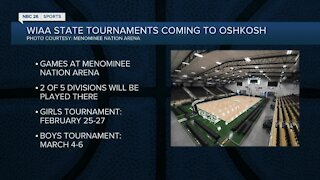 WIAA state tournament coming to Menominee Nation Arena