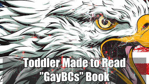 """Toddler Made to Read """"GayBCs"""" Book"""