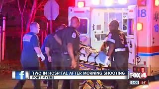 Two people hospitalized after Fort Myers shooting
