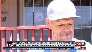 Woman accused of shooting her husband in Tehachapi