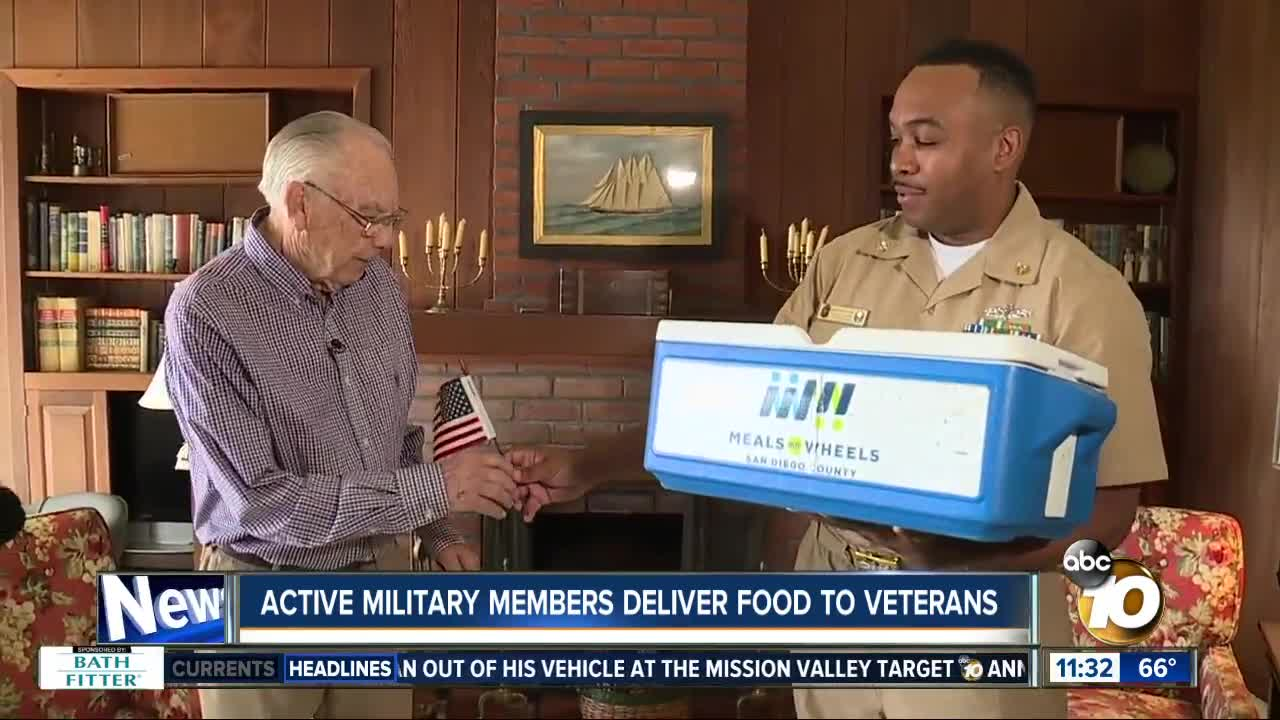 Veterans honored by Meals on Wheels