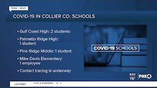 COVID-19 in Southwest Florida Schools week of 9/21