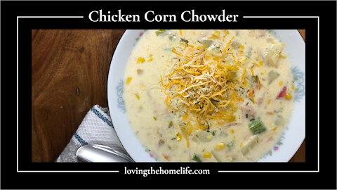 Warm Up with Chicken Corn Chowder