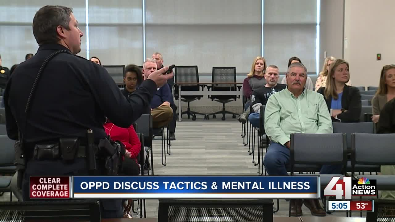 Overland Park Police Department hosts mental health symposium