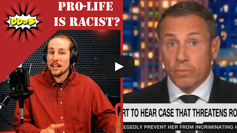 """DDoS- Chris Cuomo Says Ending Abortion is Catering to """"White Fright"""""""
