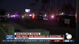 One dead, one wounded in shooting