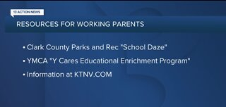 Resources for working parents during CCSD virtual learning