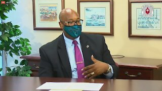 Palm Beach County superintendent answers questions about in-classroom instruction, school safety