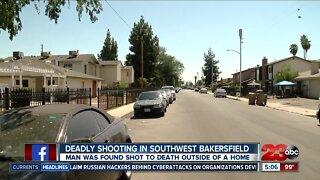Deadly shooting in Southwest Bakersfield