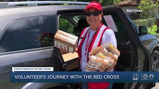 Volunteer recalls her 17 years of service to Red Cross