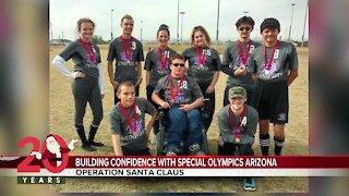 Operation Santa Claus: Building confidence with Special Olympics Arizona