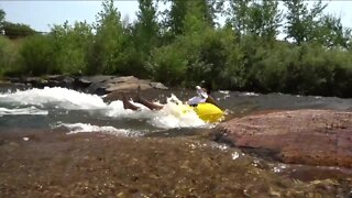 Access to Clear Creek in Golden is closed but floating is still on as hot, summer days continue