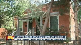 Denver cracking down on unlicensed short-term rentals