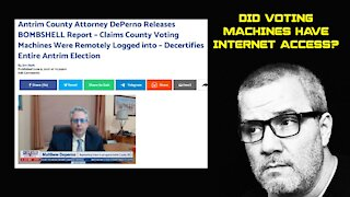 Attorney Claims County Voting Machines Were Remotely Logged Into