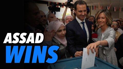 Assad wins Syria election. Regime change started under Obama fails