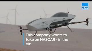 This electric flying racecar wants to take on NASCAR