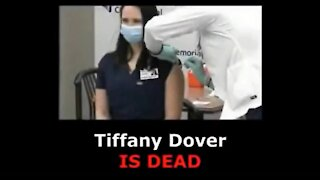 [2 of 2] Tiffany Dover, Nurse Fainting after Covid Vaccination, CONFIRMED DEAD [mirrored]