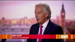 Former British PM Tony Blair advocates for taking away the rights of unvaccinated people