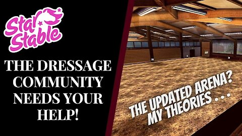 THE NEW UPDATED RIDING HALL?! | This Could Ruin SSO Dressage... Star Stable Quinn Ponylord